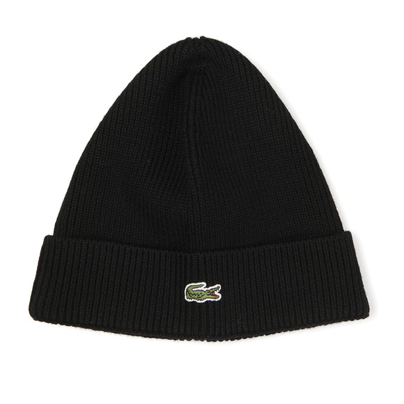 Lacoste Mens Black RB3502 Beanie main image