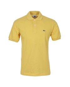 Lacoste Mens Yellow L1212 Polenta Plain Polo Shirt
