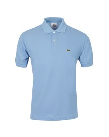 Lacoste Mens Blue L1212 Lac Plain Polo Shirt