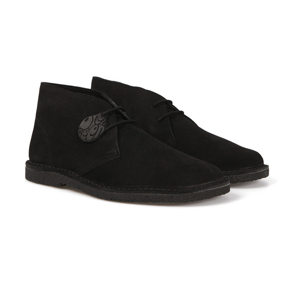 Pretty Green Mens Black Desert Boot main image