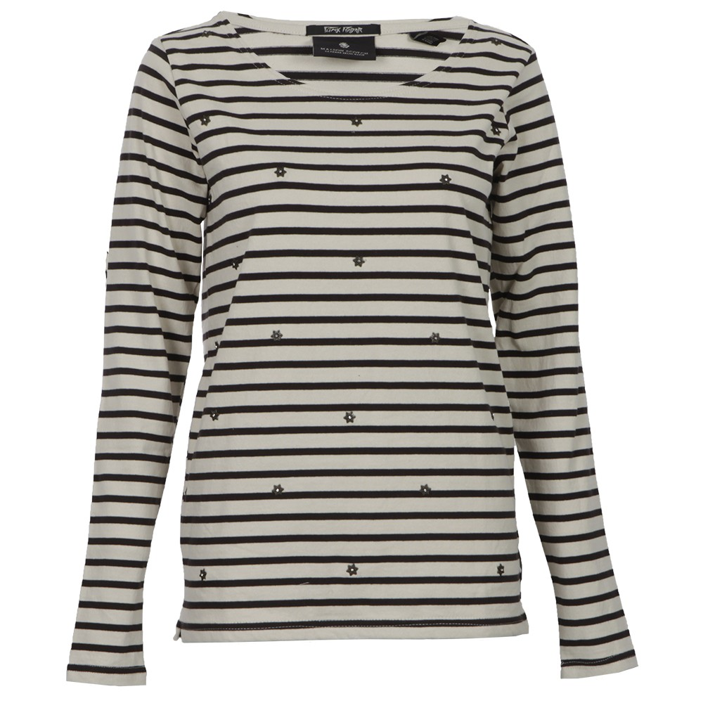 Breton Striped Top With Studs main image