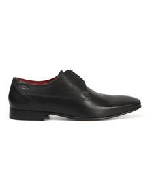 Base London Mens Black Button Shoe