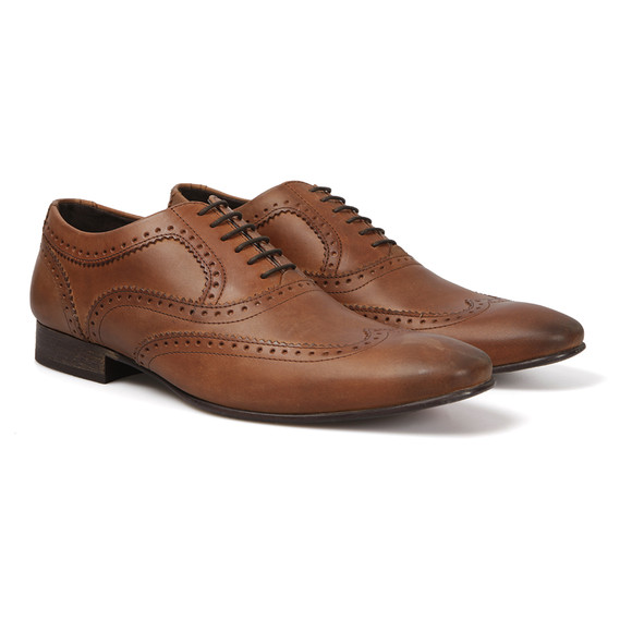 Base London Mens Brown  Nutmeg Shoe main image