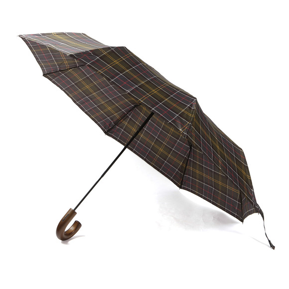 Barbour Lifestyle Mens Red Telescopic Umbrella main image