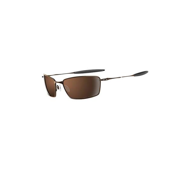 Oakley Mens Grey Oakley Polarized Platinum Square Whisker Sunglasses main image
