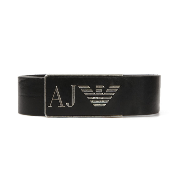 Armani Jeans Mens Black U6115 Leather Belt main image