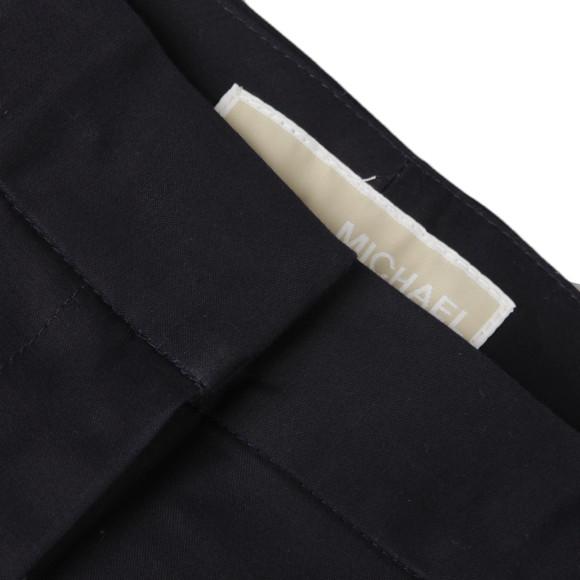 Michael Kors Womens Blue Zipper Pant