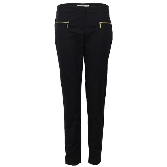 Michael Kors Womens Blue Zipper Pant