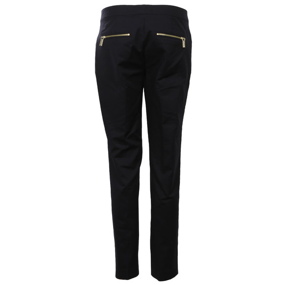 Michael Kors Womens Blue Zipper Pant  main image