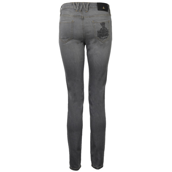 Vivienne Westwood Anglomania Womens Grey Monroe Jegging main image