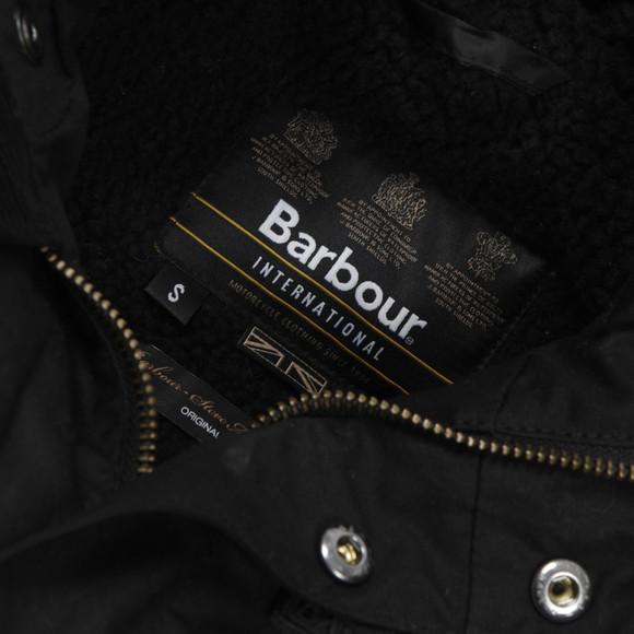 Barbour Steve McQueen Boys Black Boys Reiver Jacket main image