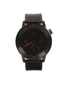 Adidas Originals Mens Black Manchester Watch