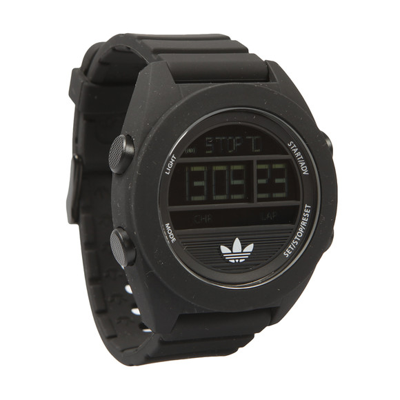 Adidas Originals Mens Black Calgary Digital Watch main image