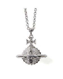 Vivienne Westwood Womens Silver Mayfair 3D Large Orb Pendant