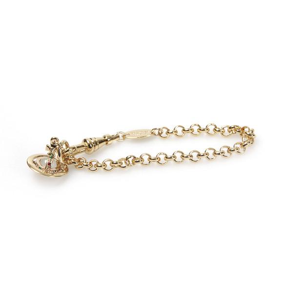 Vivienne Westwood Womens Gold Petite Orb Bracelet main image