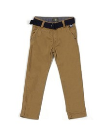 Timberland Boys Blue Chino With Belt