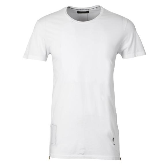 Religion Mens White Marley Double Zip T-Shirt main image