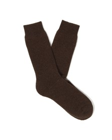 Barbour Lifestyle Mens Brown Wellington Calf Sock