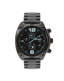 Diesel Mens Black Diesel DZ4316 Overflow Metal Watch