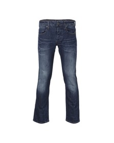 G-Star Mens Blue Defend Revend Straight Jean