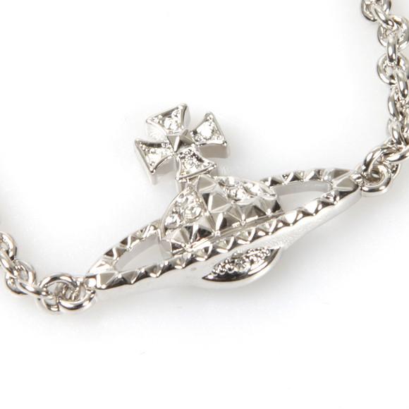 Vivienne Westwood Womens Silver Mayfair Bas Relief Bracelet main image