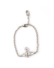 Vivienne Westwood Womens Silver Mayfair Bas Relief Bracelet