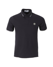 Stone Island Mens Blue Tipped Polo