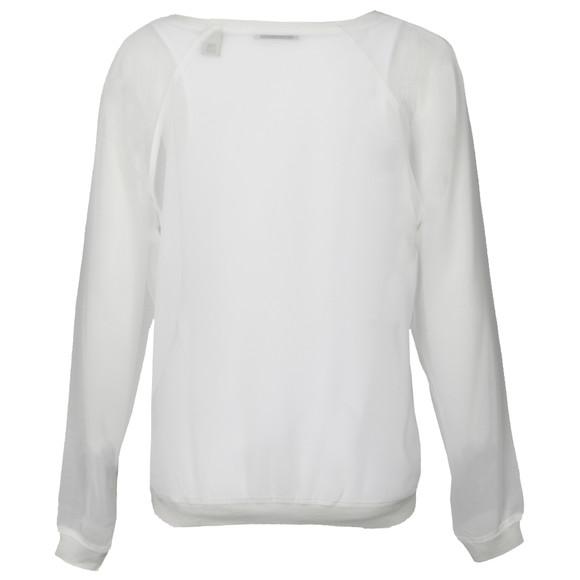 Maison Scotch Womens White Sheer Top With Tank main image
