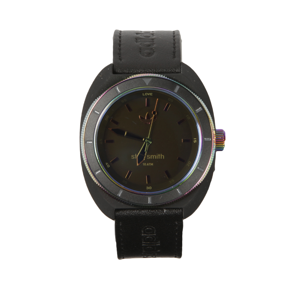 the latest e70e9 be283 adidas Originals Mens Green Stan Smith Watch
