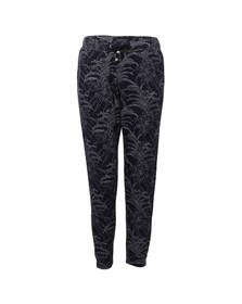 Maison Scotch Womens Blue Jacquard Jog Pant