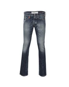 Replay Mens Blue Waitom Regular Slim Jean