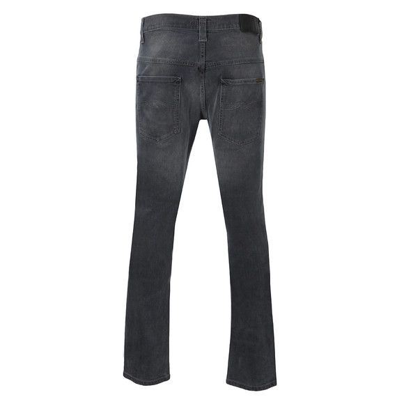 Nudie Jeans Mens Black Tape Ted Jeans main image