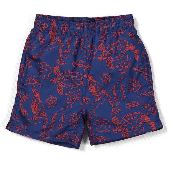 Gant Boys Blue Bird Swim Boxer main image
