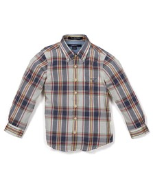 Gant Boys Blue Ocean Fresh Madras Check Shirt