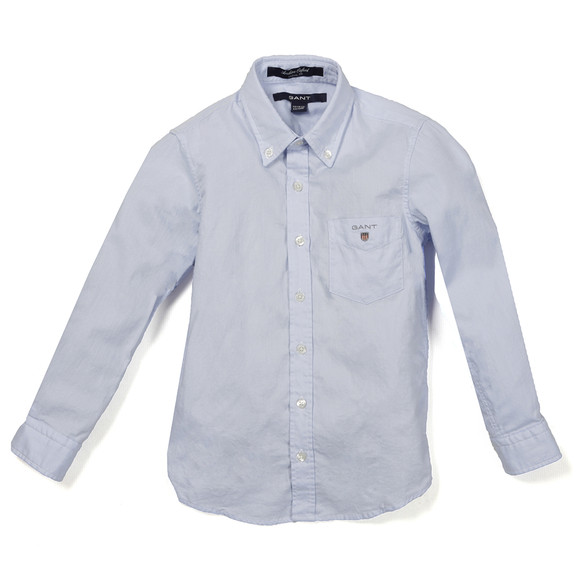 Gant Boys Blue Archive Oxford Shirt main image