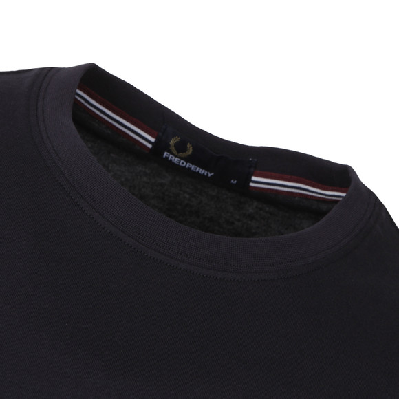 Fred Perry Mens Blue Crew Neck T-Shirt main image