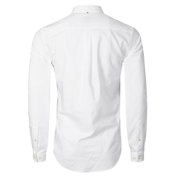 Pretty Green Mens White Oldbury Shirt main image