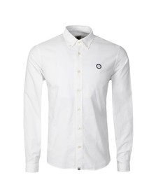 Pretty Green Mens White Oldbury Shirt