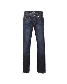 True Religion Mens Blue Geno Slim Jean