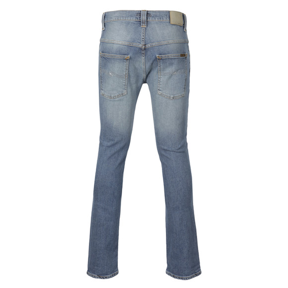 Nudie Jeans Mens Blue Thin Finn Tender Blues Dry Stretch Jean main image