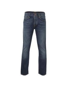 Nudie Jeans Mens Blue Steady Eddie Jean