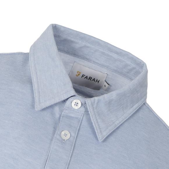 Farah Mens Blue Tennyson Polo Shirt main image