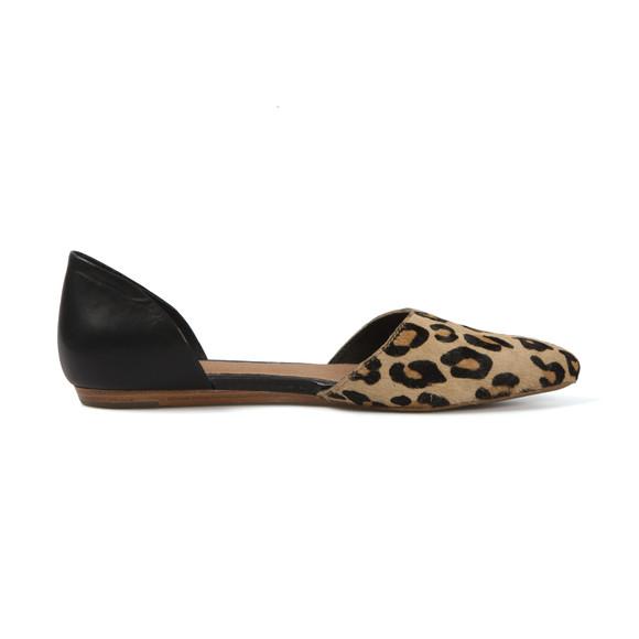 Ugg Womens Beige Lea Calf Hair Shoe main image