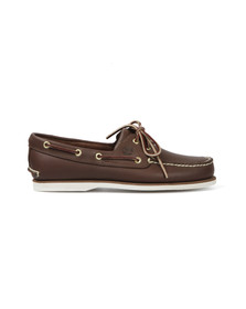 Timberland Mens Brown Deck Shoe