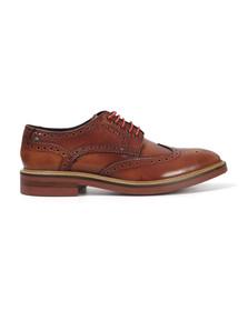 Base London Mens Brown Woburn Brogue Shoe