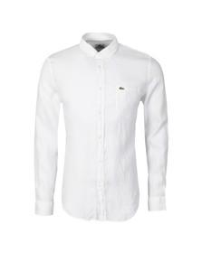 Lacoste Mens White CH8738 Shirt