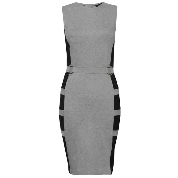 French Connection Womens Grey Jennifer Tux Sleeveless Dress main image