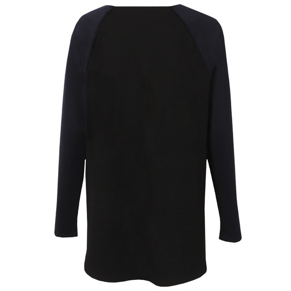 French Connection Womens Blue Cora Stretch Long Sleeve Top main image