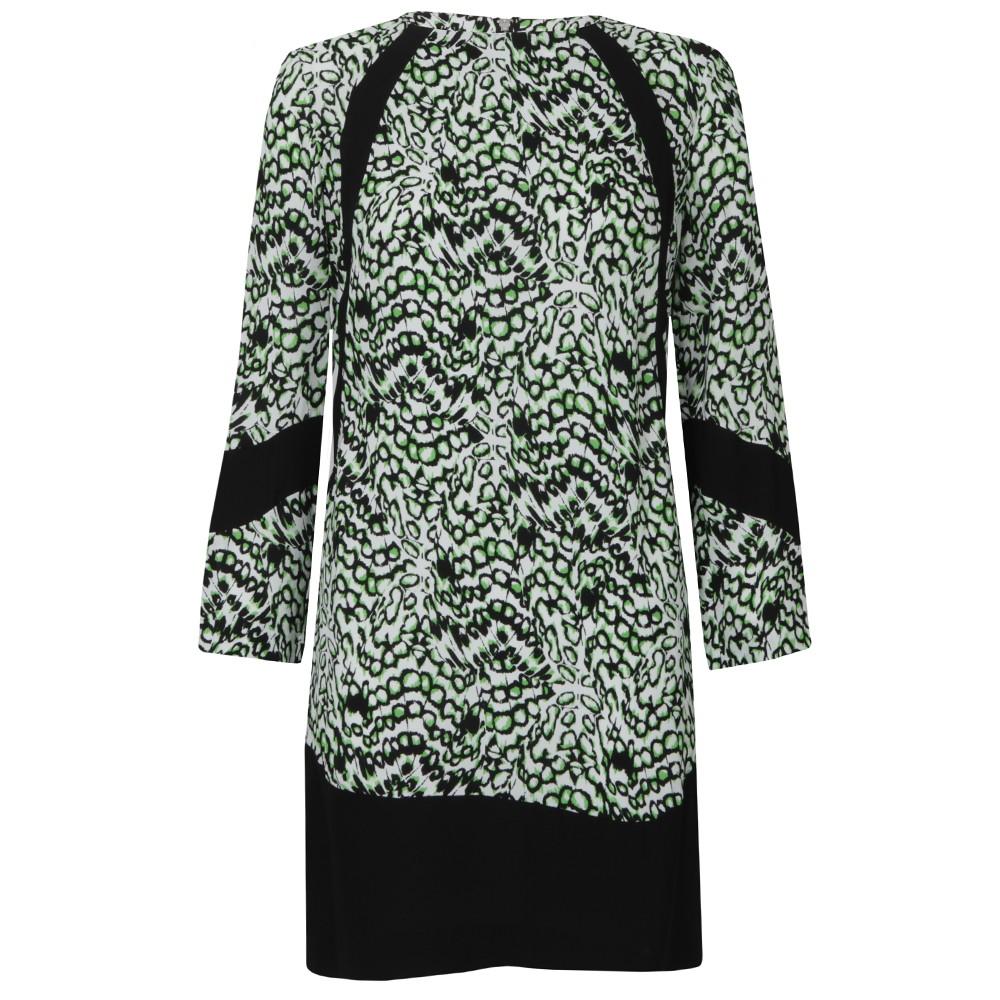 Leopard Moth Crepe Tunic Dress main image