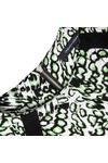 French Connection Womens Green Leopard Moth Crepe Tunic Dress